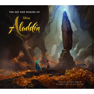 Артбук Titan Books The Art and Making of Aladdin [Hardcover]