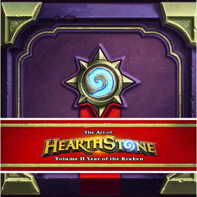 Артбук Blizzard The Art of Hearthstone: Year of the Kraken [Hardcover]