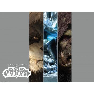 Артбук Blizzard The Cinematic Art of World of Warcraft: Volume I [Hardcover]