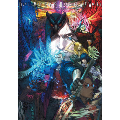 Артбук Devil May Cry 5 Official Art Works [Paperback]