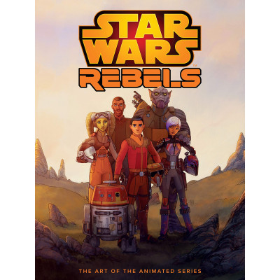 Артбук Dark Horse The Art of Star Wars Rebels [Hardcover]