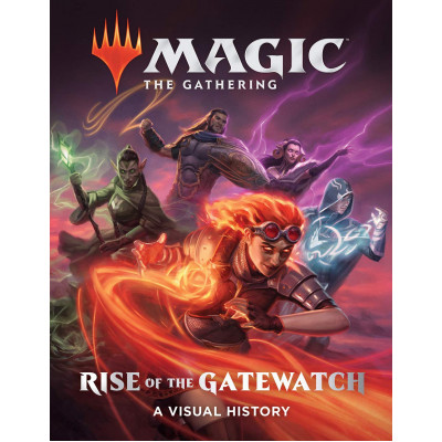 Артбук Abrams Magic: The Gathering: Rise of the Gatewatch: A Visual History [Hardcover]