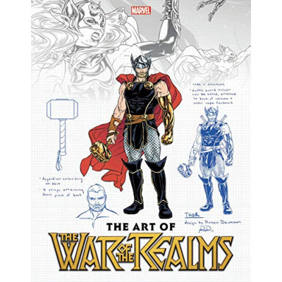 Артбук Marvel The Art of War of the Realms [Paperback]