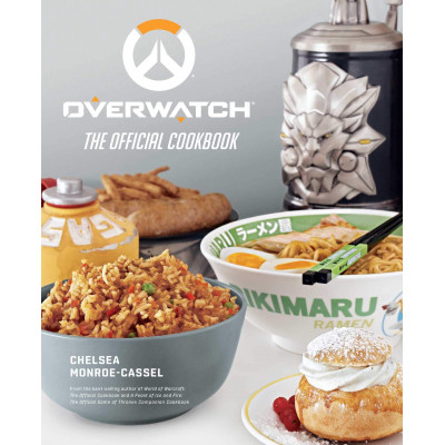 Книга Insight Editions Overwatch: The Official Cookbook [Hardcover]