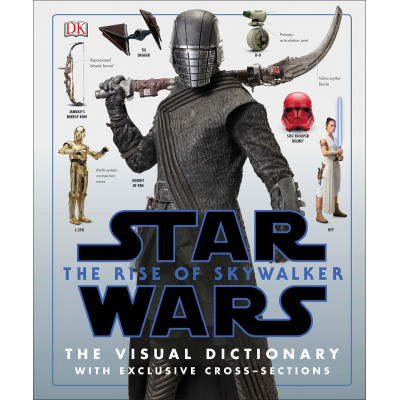 Книга Dorling Kindersley Star Wars The Rise of Skywalker The Visual Dictionary [Hardcover]