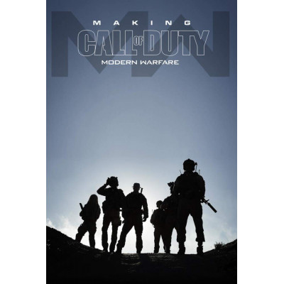 Артбук Activision Making Call of Duty Modern Warfare [Hardcover]