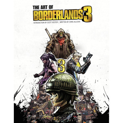 Артбук Insight Editions The Art of Borderlands 3 [Hardcover]
