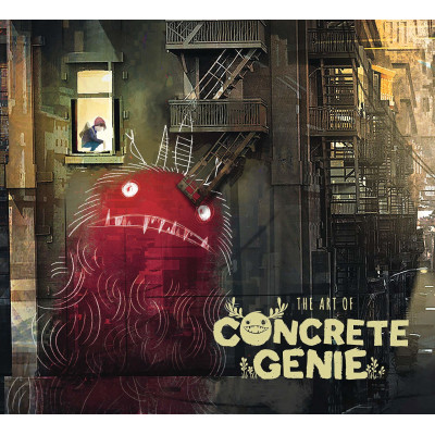 Артбук Dark Horse The Art of Concrete Genie [Hardcover]