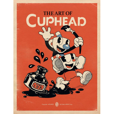 Артбук Dark Horse The Art of Cuphead [Hardcover]