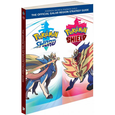 Руководство по игре Pokémon Sword & Pokémon Shield: The Official Galar Region Strategy Guide [Paperback]
