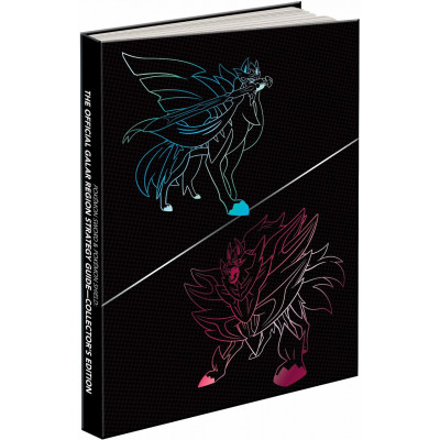Руководство по игре Pokémon Sword & Pokémon Shield: The Official Galar Region Strategy Guide: Collector's Edition [Hardcover]