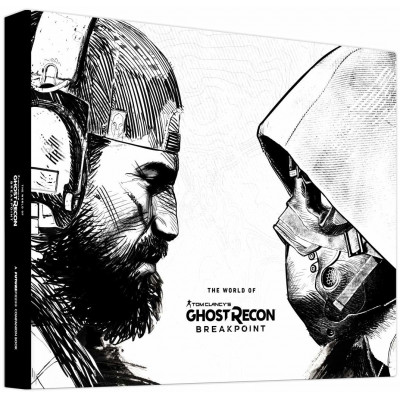 Книга Future Press The World of Tom Clancy's Ghost Recon Breakpoint [Hardcover]