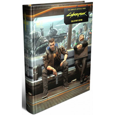 Руководство по игре Piggyback Cyberpunk 2077: The Complete Official Guide - Collector's Edition [Hardcover]