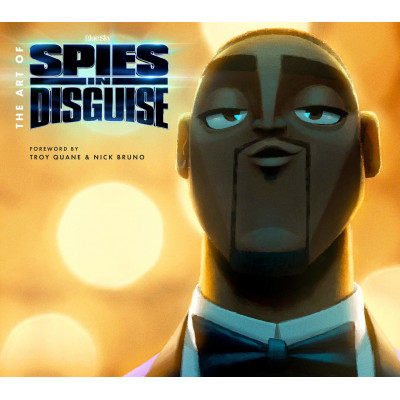 Артбук Titan Books The Art of Spies in Disguise [Hardcover]