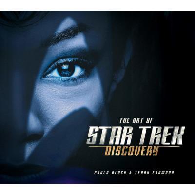 Артбук Titan Books The Art of Star Trek Discovery [Hardcover]