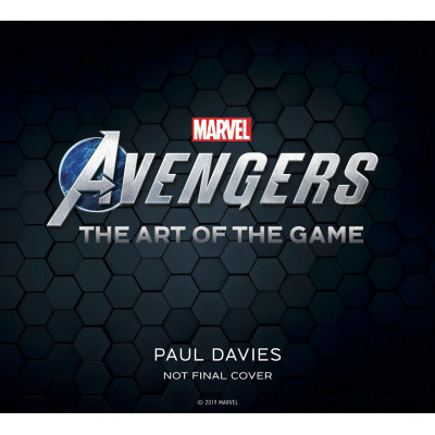 Артбук Titan Books Marvel's Avengers The Art of the Game [Hardcover]