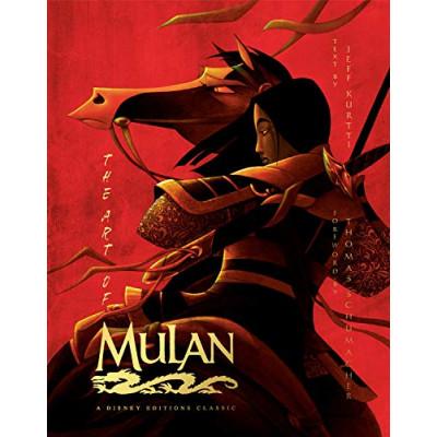 Артбук Disney The Art of Mulan: A Editions Classic [Hardcover]