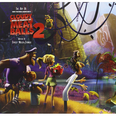 Артбук The Art of Cloudy with a Chance of Meatballs 2: Revenge of the Leftovers [Hardcover]