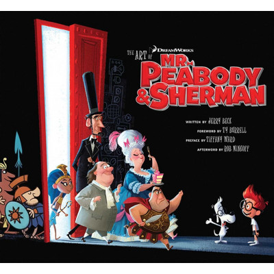 Артбук Insight Editions The Art of Mr Peabody and Sherman [Hardcover]