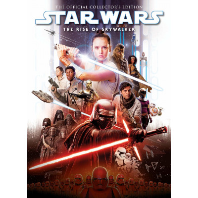 Книга Titan Books Star Wars: The Rise of Skywalker Movie Special Book [Hardcover]