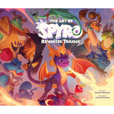 Артбук Blizzard The Art of Spyro: Reignited Trilogy [Hardcover]