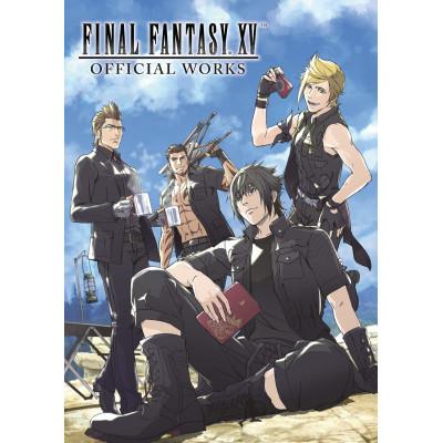 Артбук Dark Horse Final Fantasy XV Official Works [Hardcover]
