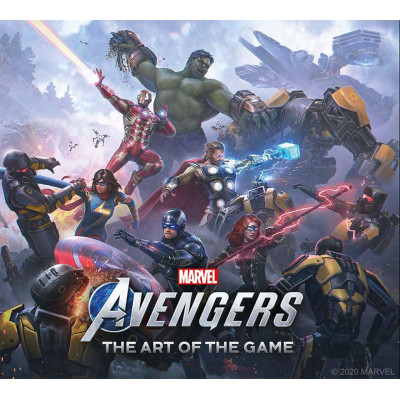 Артбук Titan Books Marvel's Avengers The Art of the Game [Hardcover]