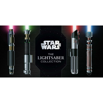 Книга Insight Editions Star Wars: The Lightsaber Collection [Hardcover]