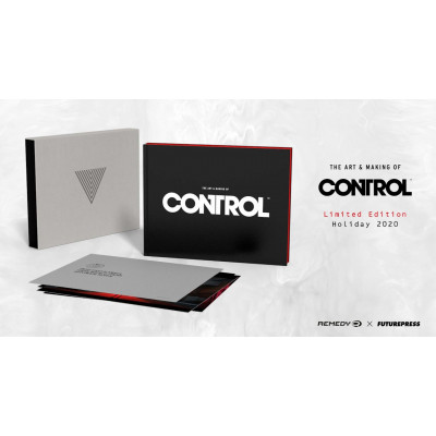 Артбук Future Press The Art and Making of Control Limited Edition [Hardcover]