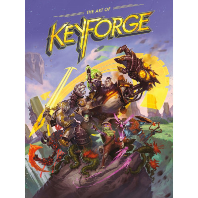 Артбук Dark Horse The Art of KeyForge [Hardcover]