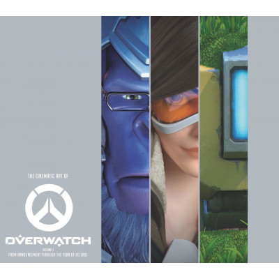 Артбук Blizzard The Cinematic Art of Overwatch [Hardcover]