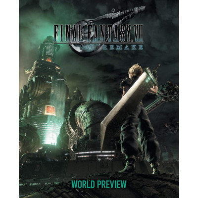 Книга Square Enix Final Fantasy VII Remake: World Preview [Hardcover]