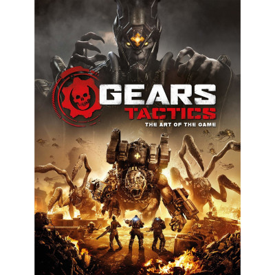 Артбук Titan Books Gears Tactics - The Art of the Game [Hardcover]