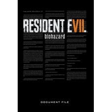 Resident Evil 7: Biohazard Document File [Hardcover]