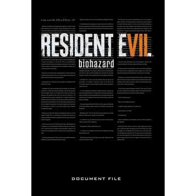 Книга Dark Horse Resident Evil 7: Biohazard Document File [Hardcover]