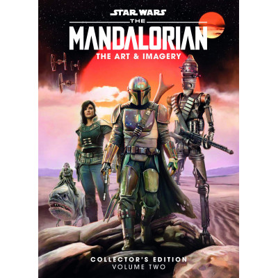 Артбук Titan Books Star Wars The Mandalorian: The Art and Imagery Collector's Edition Volume Two [Hardcover]