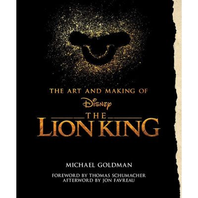 Артбук Disney The Art and Making of The Lion King [Hardcover]