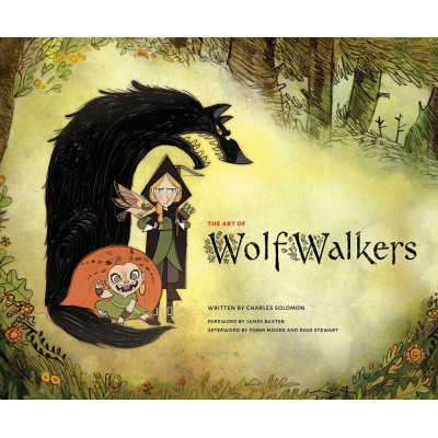 Артбук Abrams The Art of Wolfwalkers [Hardcover]