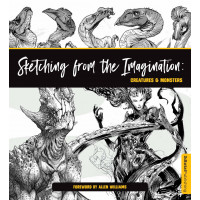 Sketching from the Imagination: Creatures & Monsters [Paperback]