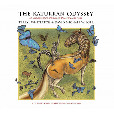 Книга Design Studio Press The Katurran Odyssey: An Epic Adventure of Courage, Discovery, and Hope [Paperback]