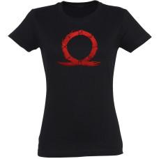 Футболка God of War - Serpent Symbol (женская)