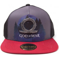 Бейсболка God Of War (Sublimation Print Metal Badge)