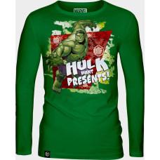 Лонгслив The Incredible Hulk - Hulk Want Presents!