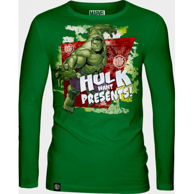 Лонгслив Good Loot The Incredible Hulk - Hulk Want Presents!
