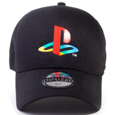 Бейсболка Difuzed Playstation Logo (Seamless Cap) BA731765SNY
