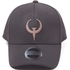 Бейсболка Quake - Classic Quake Logo (Black)