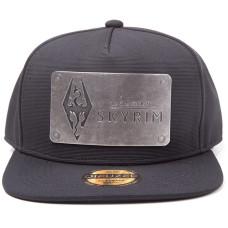 Бейсболка The Elder Scrolls V: Skyrim - Dovakiin Logo (Metal Plate)