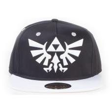 Бейсболка The Legend Of Zelda - Hyrule Crest Logo (Black/White)