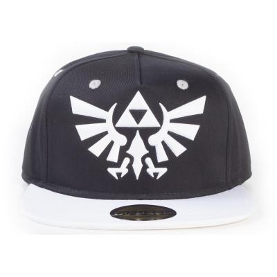 Бейсболка Difuzed The Legend Of Zelda - Hyrule Crest Logo (Black/White) SB343111ZEL