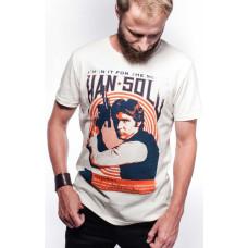 "Футболка Star Wars - Han Solo ""Vintage Rock Poster"""